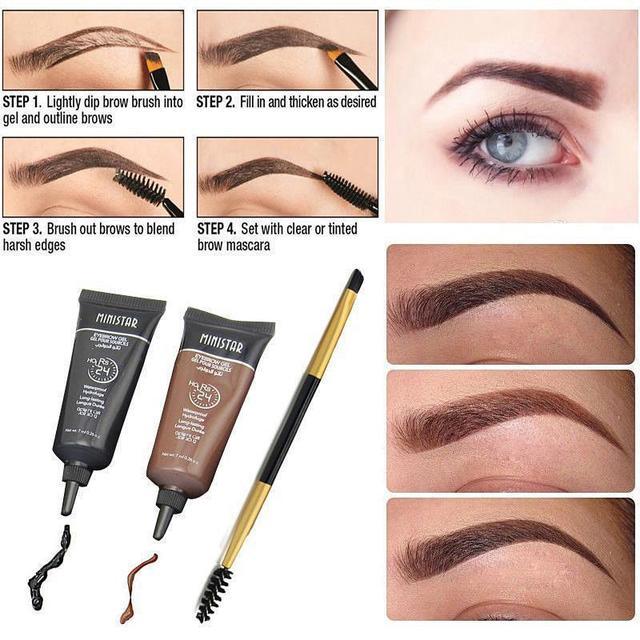 Ministar Eyebrow Gel 24 Hours