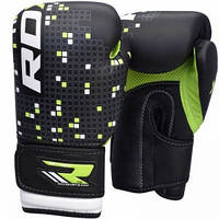Перчатки для бокса детские RDX GREEN