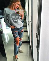 Женский стильный свитшот ОЖХ11