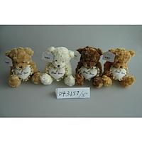 Медвежонок с сердечком ТМ Devik Toys, 23см, 4 ас.