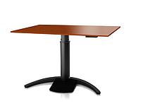 501-19 7B 120: Эргономичный компьютерный стол (для угловых и небольших прямых столешниц)
