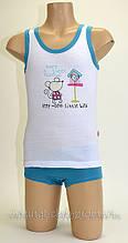 Комплект майка+шортики на дівчинку Польща 86-140 зростання