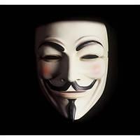 Маска Гая Фокса ( Vendetta) пластиковая