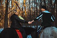 Романтическая прогулка на лошадях для пары
