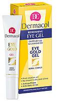 Гель для век против темных кругов под глазами Dermacol Face Care Eye Gold Gel
