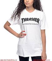 "Женская футболка ""Thrasher"", трешер"