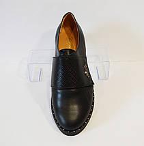 Туфли женские кожаные kento, фото 2