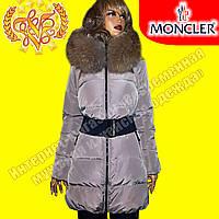 Женский брендовый пуховик Moncler