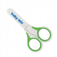 Манікюрні ножиці зелені
