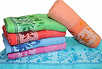"Махровое полотенце для лица ""вышивка""  №Л-158"