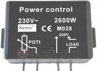 MK071M - Регулятор мощности 2600Вт/220В