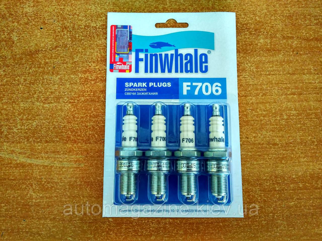Свічки запалювання Газель 405 - 406 (Finwhale)