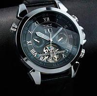 Модные часы Jaragar Turboulion Silver