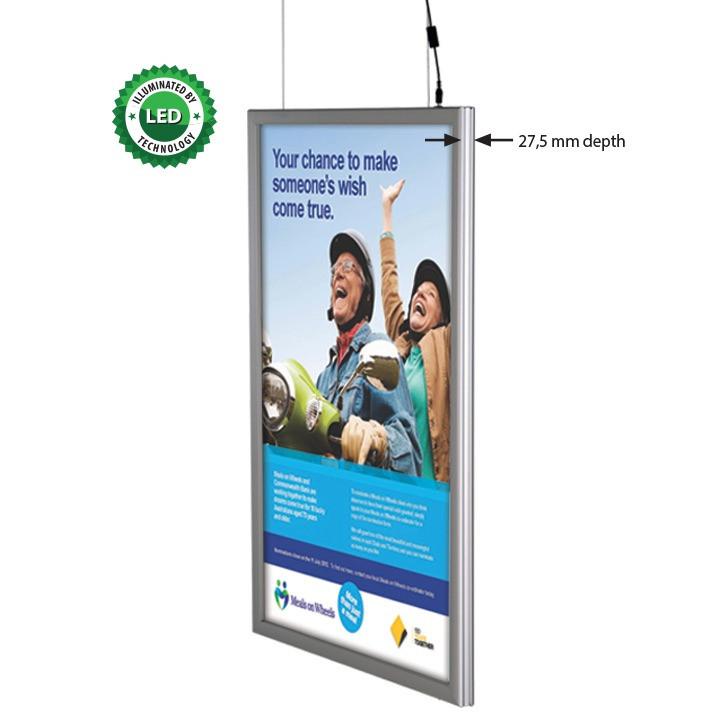 Ультратонкая рамка с диодной подсветкой Smart LEDbox