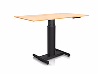501-19 7B 60: Эргономичный компьютерный стол (для угловых и небольших прямых столешниц)