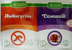 Фунгицид Антигусинь 4мл+Самшит 3 мл