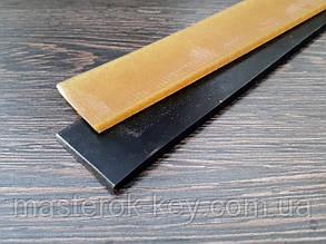 Косяки полиуретановые гладкие Lux 400*40*5-2мм черные