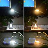 Мини светодиодный фонарик , USB лампа, брелок , LED светильник, ночник., фото 3
