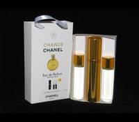"""Набор духов Travel Perfume Chanel """"Chance """"  3 в 1 15 мл"""