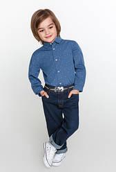 Детские джинсовые брюки оптом