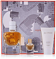 Парфюмерный набор Hermes Jour d'Hermes 85ml + 7.5 ml + Body Lotion 30 ml+Shower Gel 30 ml