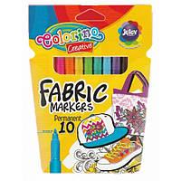 Маркеры для ТКАНИ Colorino 10 цветов