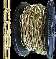 """Ланцюг """"Квадрат з візерунком"""" Ø 2,0 мм золотий"""