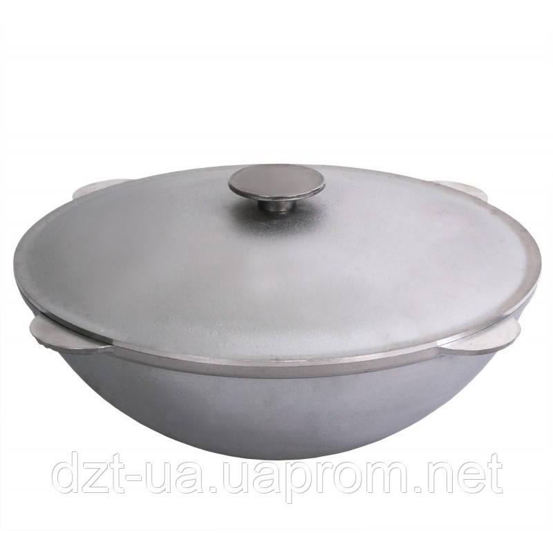 Казан татарский (40 л) литой алюминиевый с крышкой