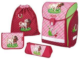 Шкільний ранець від Herlitz Midi Plus Horses 4 предмета