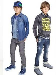 Джинсовые куртки и рубашки для детей