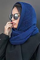 Женский вязаный снуд 182 (шарф-хомут)