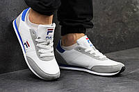 Мужские кроссовки Fila белые с серым - 150-1420