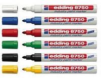 """Маркер лак-краска, синий """"Edding"""" Industry Paint e-8750 2-4 мм"""