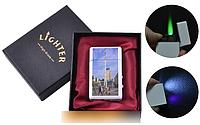 """Зажигалка в подарочной упаковке Киев """"Монумент Независимости"""" (Турбо пламя) №UA-8-3 SO"""