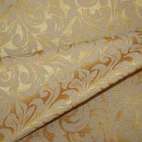 Ткань для портьер liza яркое золото