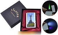 """Зажигалка в подарочной упаковке Киев """"Родина Мать"""" (Турбо пламя) №UA-8-8 SO"""
