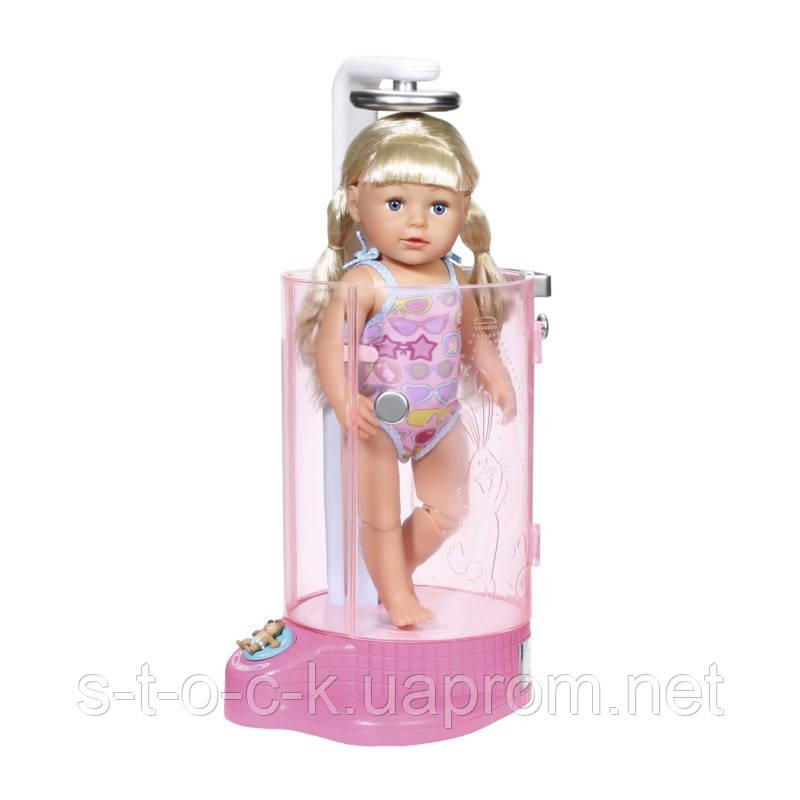 Душевая кабинка для куклы Baby born с аксессуарами 823583
