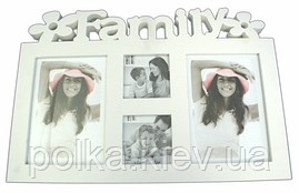 Фотоколлаж на 4 фото Family