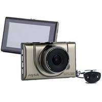 Авто видео регистратор Anytek A-100h c камерой заднего вида