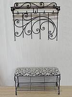 Набор кованой мебели в прихожую  -  037