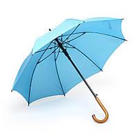 Зонт трость полуавтомат Голубой