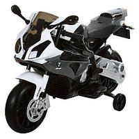 Детский электромобиль мотоцикл BMW grey
