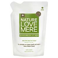 Средство для мытья детской посуды NatureLoveMere, 500 мл (сменный блок)