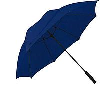 Зонт трость антишторм 133 см Dark Blue
