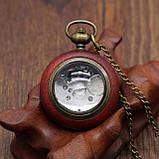 Часы карманные кварцевые винтаж, фото 2