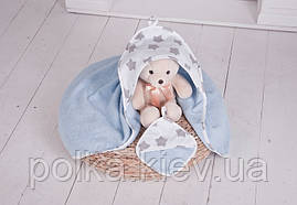 Полотенце с капюшоном для новорожденного Звездный путь