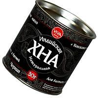 Хна VIVA 30г для био тату и бровей с кокосовым маслом черная