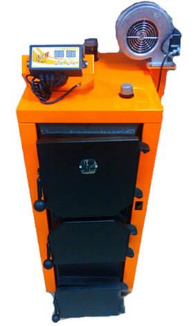 Котел длительного горения Донтерм ДТМ 10 кВт Турбо , фото 2