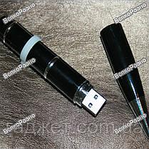 Флешка, ручка и лазер 3 в 1 черного цвета на 16 гб., фото 3