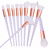 Набор из 10 кистей для макияжа Unicorn Brushes копия